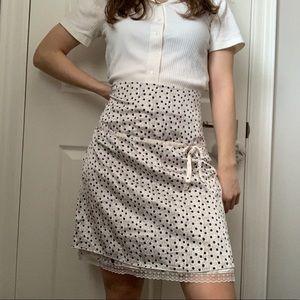 Vintage Kenzie Silk Floral Skirt 💐
